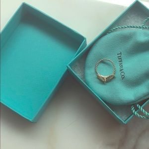 Tiffany bow ring